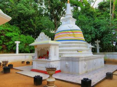 Stupa on the peak of Gatabaru Kanda