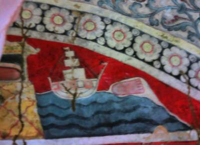 Paintings of cave I-Kandyan era