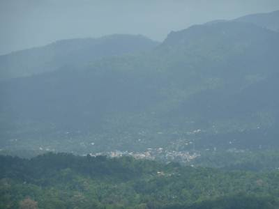 Matale town(360m above msl) from a 1000m above msl