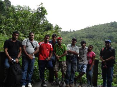 The team: From Left - Harsha, Prasanna, Wumi, Prince, Me, Tony, Dodam and his wife, Athula…