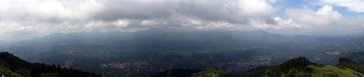 pano towards matale and Knuckles range