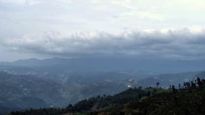 Thotupola and horton plains covered with mist