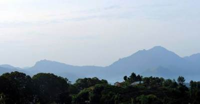 namunukula and ella peak as seen from the tea estate