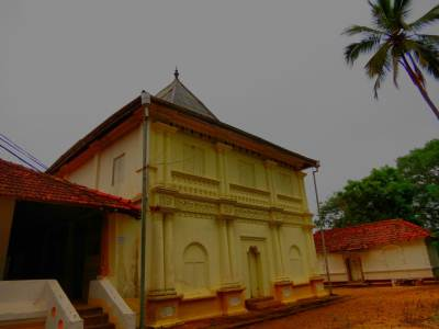 Sri Pathul Viharaya , Library and Image house from right to left