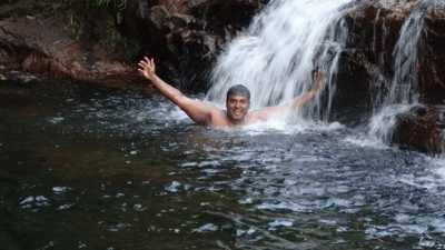 Etha WetunuWala……. I was at a small waterfall .This area was somewhat deep…..just above 2m                                    Photo : Sri