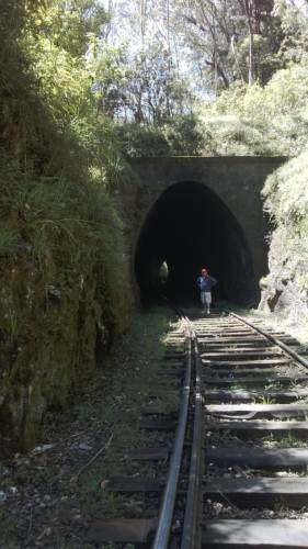 Last Tunnel of the hike – Tunnel 21