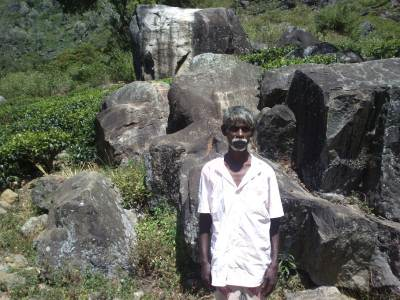 Balaiya, the man helped to find over 25 dead bodies those have jumped from World's End over the last 50 years.