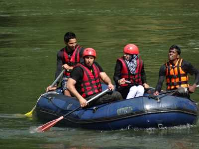 Rafting                                                                           Photo Sri