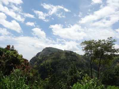 Ella Rock – Ravana Caves are somewhere there