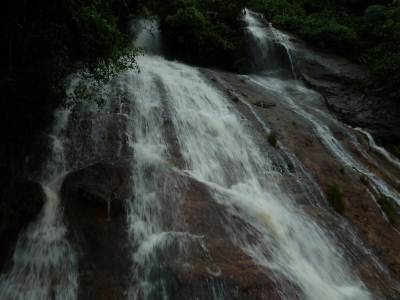 waterfall along alupola road