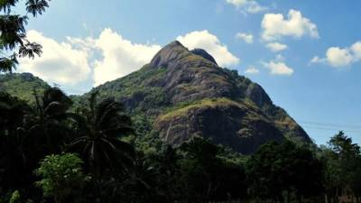 Arangala as seen from the road