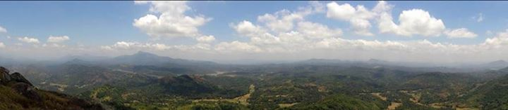 pano towards kurunegala and ambokka