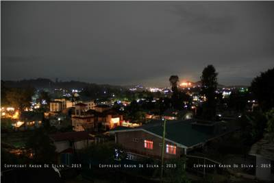 Nuwara Eliya lit up
