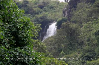 A glimpse of upper ramboda fall