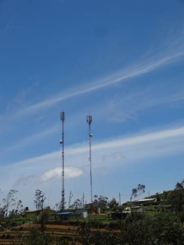 Telecom towers at Pattipola
