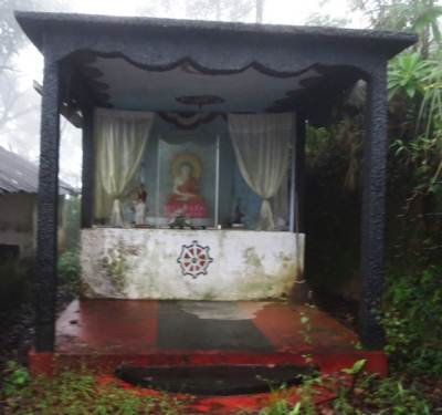 Buddha statue of Warnagala.