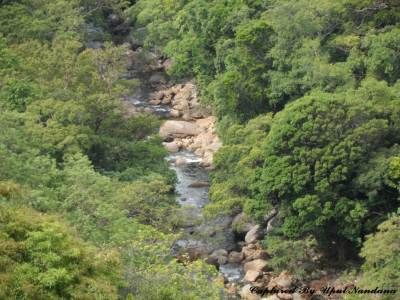 "Amazing view of ""Kalu gaga"" (This join with ""Mahaweli"" river which starting from ""knuckles"" range with feeding ""Ambangaga"")"