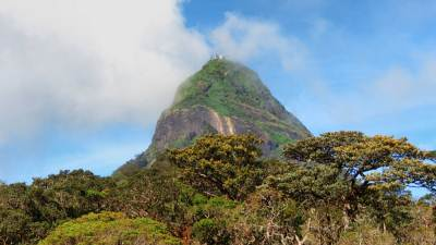 Different view of Adam's peak from Sandagalathanna.