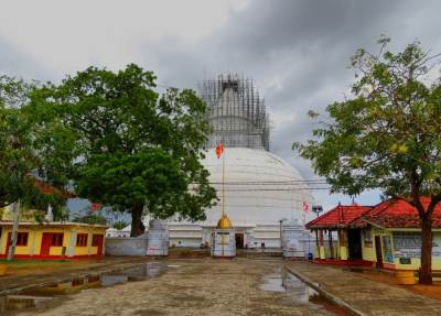 Another view of Stupa.