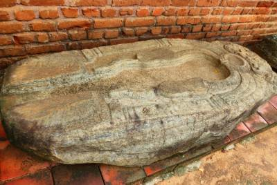 Toilet stone was found at Yatala wehera. It is now located at archeology museum premises.