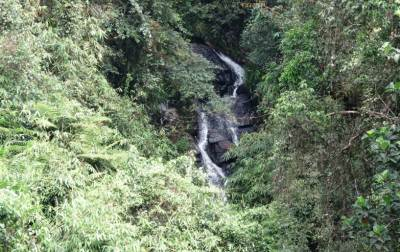 This is Beraliya Galanda waterfall. Not Ratawal dola fall. This is seen when you start the walk.