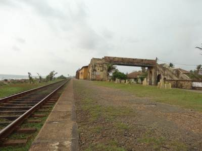 Egoda uyana Railway station                                                                                 Photo   :      Sri