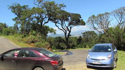 On the way to Horton Plains.