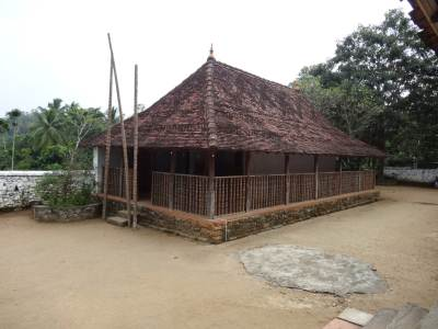 On the left of the main structure another Devalaya