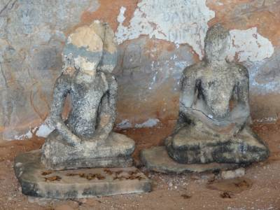 Two Buddha Statues remaining