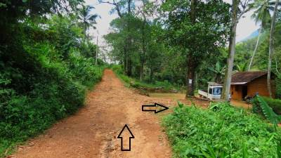 It shows the direction. Then the road became a narrow foot pathway.