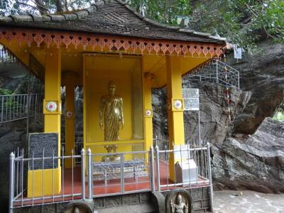 The statue of Buddhagosha Thero