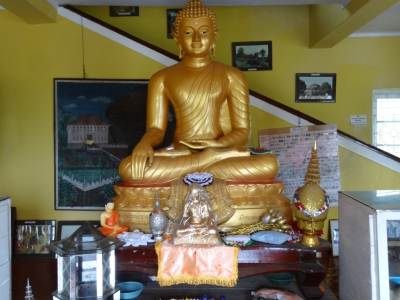 Golden Buddha inside