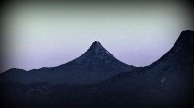 Adams peak seen on the way