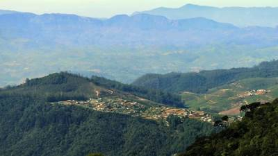 Shanthipura the highest villege in SL