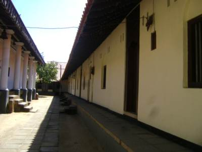The building on the right is the units of the temples