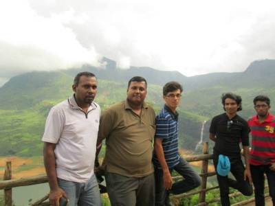 Our Nade from left Sanketha ,Me ,Prince, Prasad, Dinesh                                                                    Photo : Sanketha
