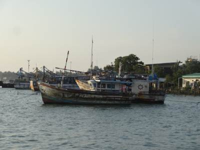 Captured Indian vessels illegally fishing in our waters