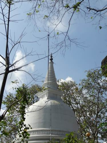 Another stupa up there