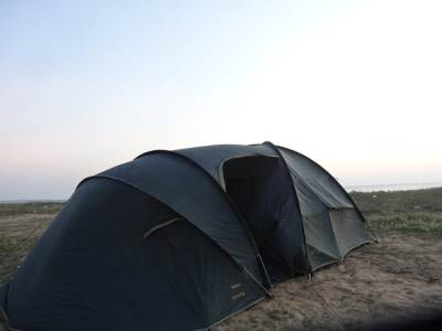 The biggest tent I've slept to date