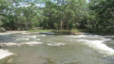Modaragam aru – the northern border of Wilpattu N.P.