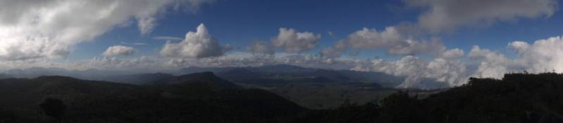 Panorama from Thotupola Mountain.