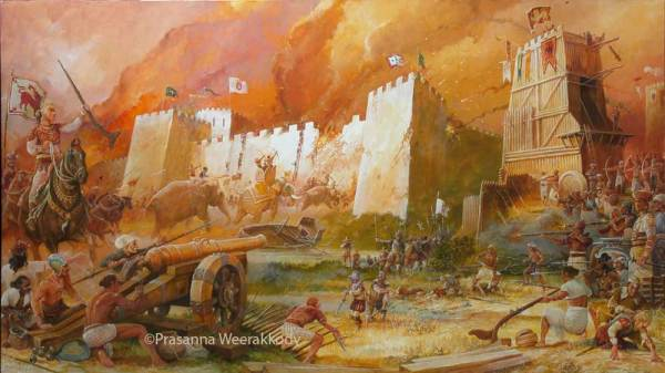 Siege of Colombo 1587 by Mr. Prasanne Weerackody