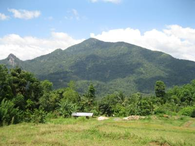 Urakanda mountain where Minister Ashraf's helicopter crashed