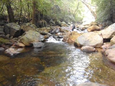 Weddahena Stream. Nice place to have a bath