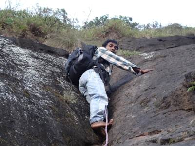 The reliable climber, Kalu malli led the journey all the way