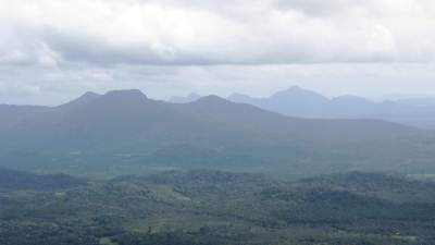 Highest mountain of Kurunegala District –Bisogala 823m
