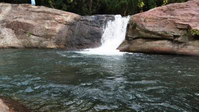 Second waterfall of Sooriya Arana