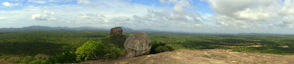 Pano towards Sigiriya