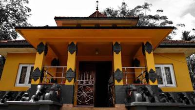 image house of gangaramaya temple