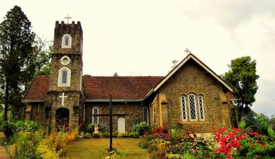 Ancient Anglican church at bandarawela